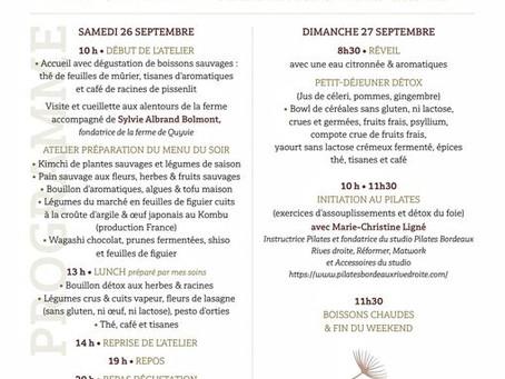 """Atelier d'Automne """" sauvage & nomade au pays des fleurs et aromatiques """""""