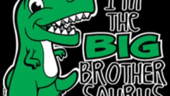 """Kids Shirt"""" Big Brother Saurus"""