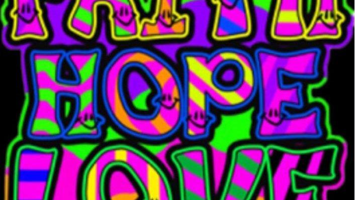 "Shirt ""Faith Hope Love"