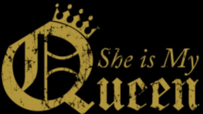 """Adult Shirt """"She Is My Queen"""