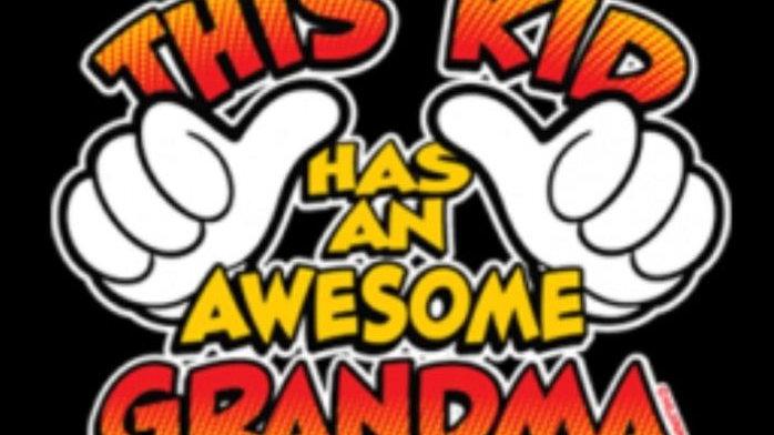 "Kids Shirt"" This kid has an Awesome Grandma"