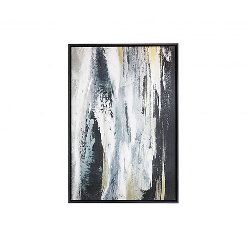 ROYALE WATERFALL SMALL FRAMED CANVAS