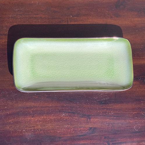 Green Ceramic Display Dish