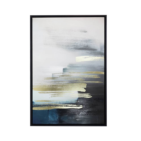 ROYALE HORIZON LARGE FRAMED CANVAS