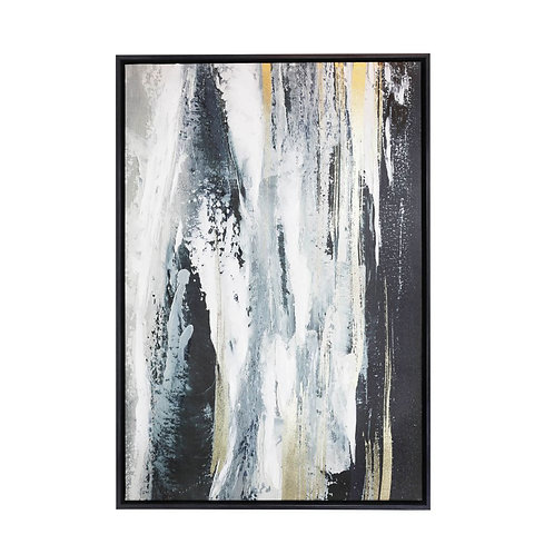 Royale Waterfall LARGE Framed Canvas