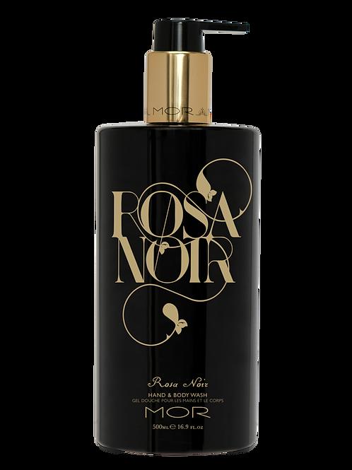 MOR ROSA NOIR HAND & BODY WASH