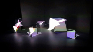 Projection Mapping on 3Dcubes