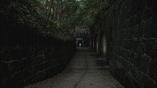 友ヶ島第3砲台美術館/友ヶ島要塞探索