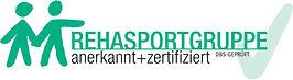 Rehasport anerkannt und zertifiziert