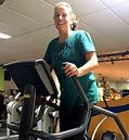 Petra trainiert gerne in der Fitness World Zweibrücken