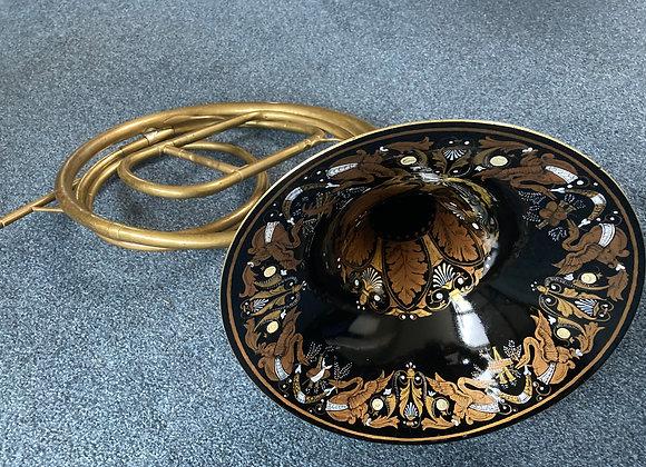 Naturhorn mit Bögen Frankreich 19. Jahrhundert