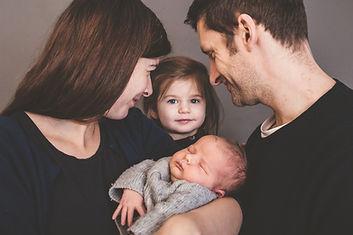 babys, kinder, newborn, familie, family