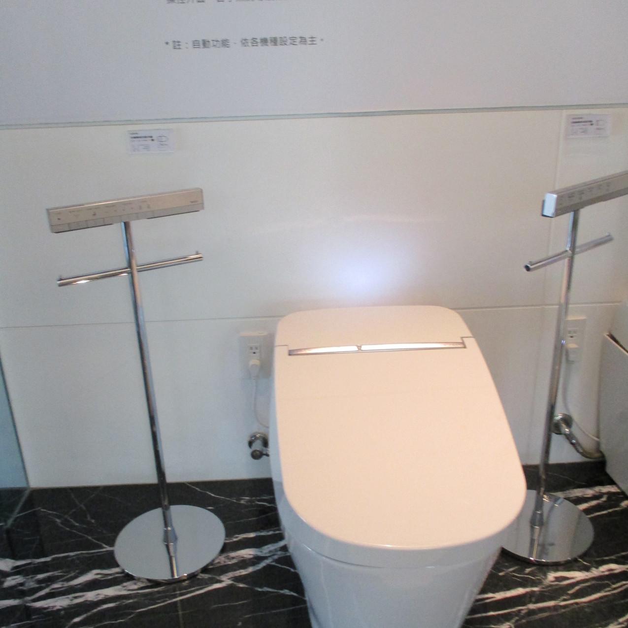 トイレ展示