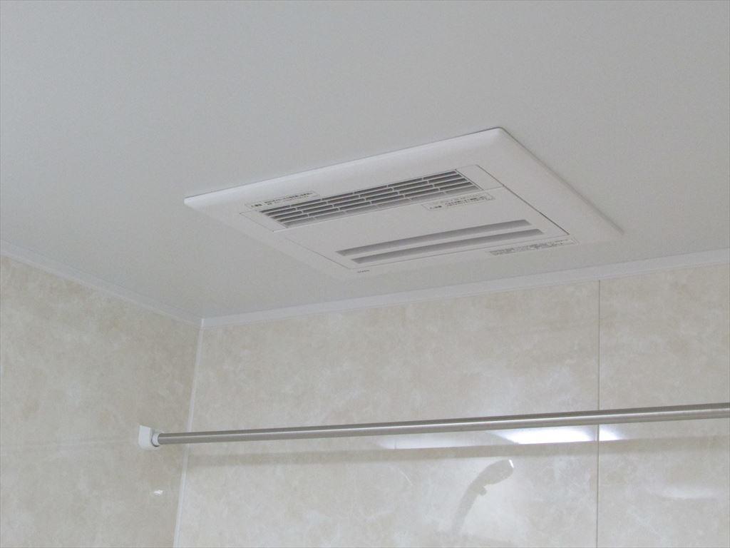 工事完了UB-乾燥暖房換気扇