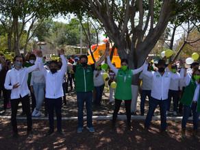 Con paso firme vamos por la alternancia en Corregidora con el  PVEM.