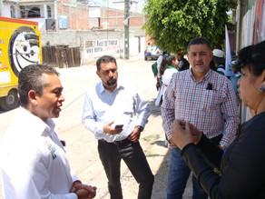 JAVIER NAVARRETE PRESENTA PLAN DE SEGURIDAD ANTE VECINOS DE SAN JOSE DE LOS OLVERA.