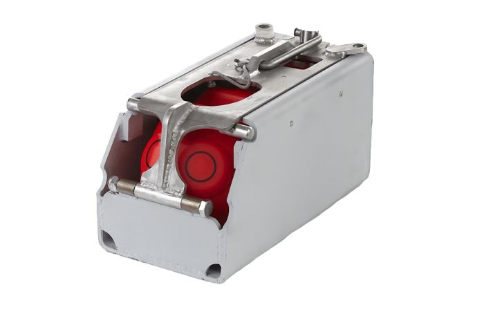 Mounting kit for SS4 DoorSenso