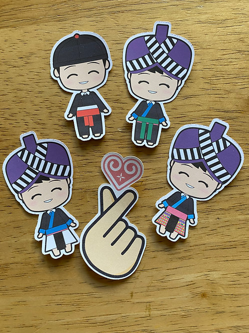 Die-Cut Hmong Stickers