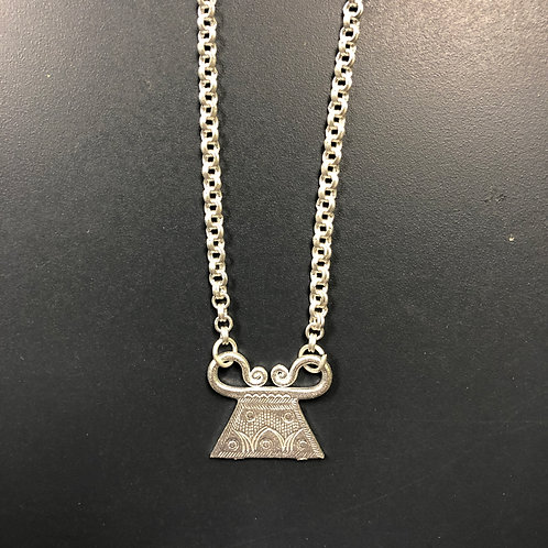 Hmong Spirit Lock Necklace
