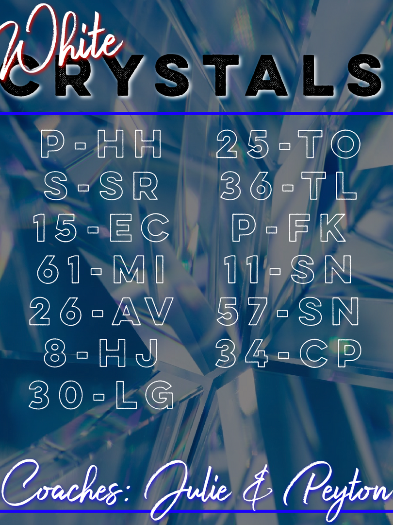 White Crystals