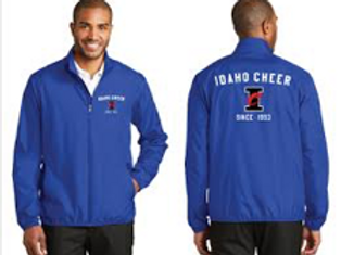 Idaho Cheer Wind Breaker