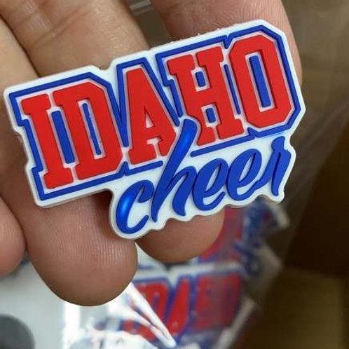 Idaho Cheer Croc Charm