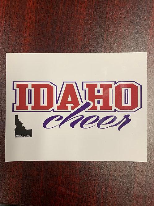 Idaho Cheer Magnet