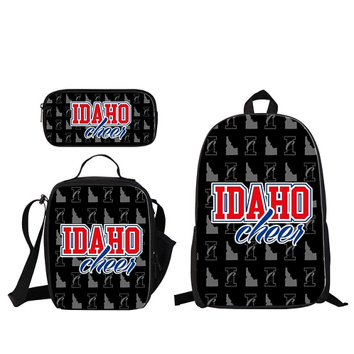 Back to School bundle: Backpack, Lunch Bag, Pencil Case