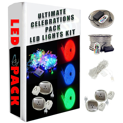 led strip light super decoration combo pack with extensions