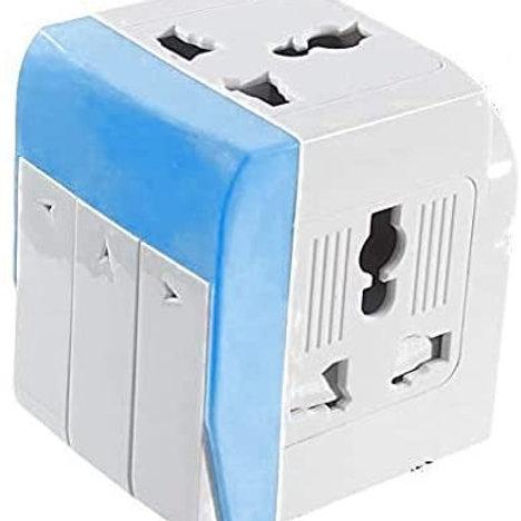 multiplug travel adapter