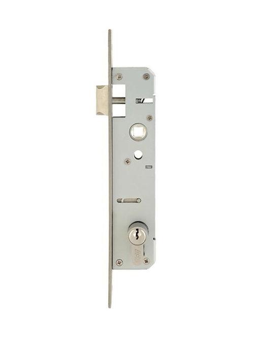 Door lock body aluminum door