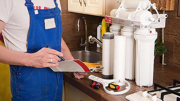 Water Filter Service  نظام تصفية المياه