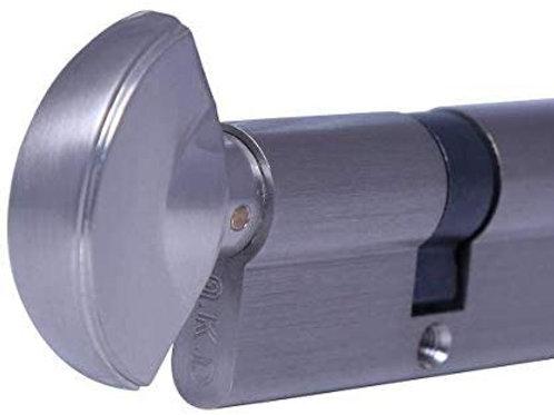Knob door lock cylinder with 3 key