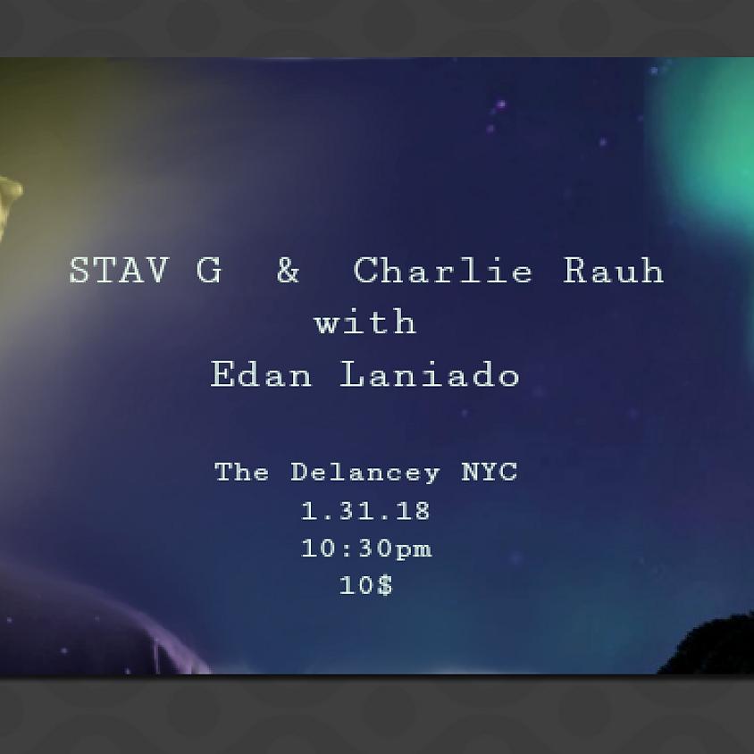 STAV G & Edan Laniado // Electro-acoustic Indie special