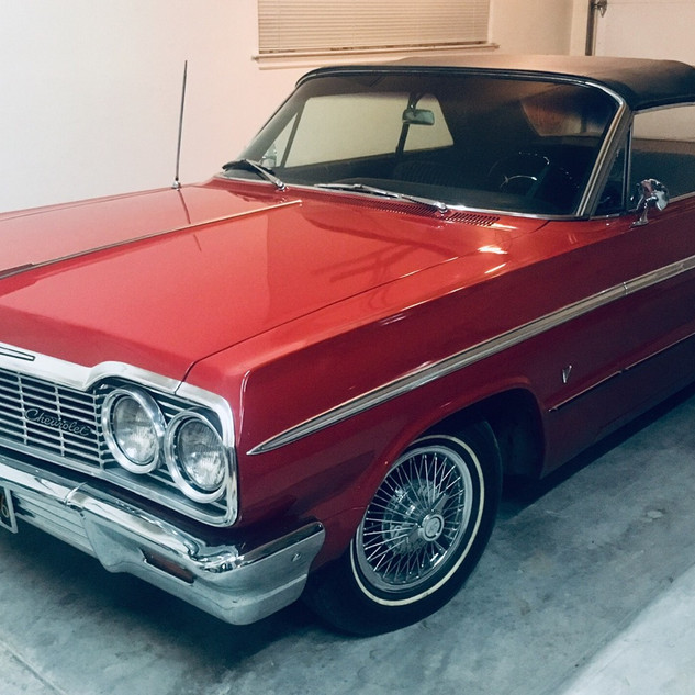 1964 Chevrolet Impala SS convertible - factory, rare!