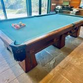 "Antique Brunswick-Balke-Collender ""Kling"" Billiards Table"