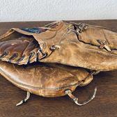 Whitey Ford baseball mitt