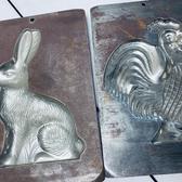 Large Bodderas Endtebruck Metal Molds