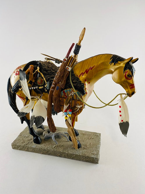 """Medicine Horse"" 2004 The Trail of Painted Ponies Limited Edition #1549"