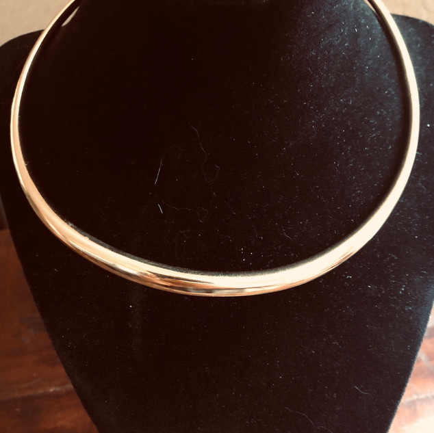 18k Micheal Goode necklace