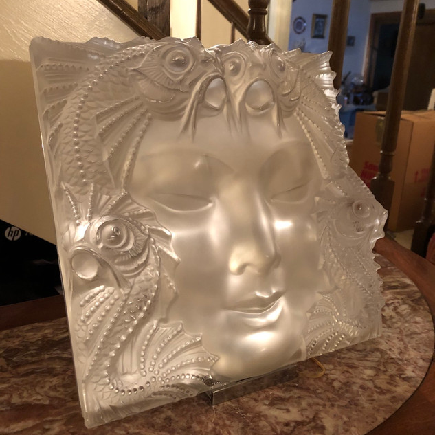 Lalique Revelation crystal sculpture