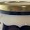 Thumbnail: Antique Imari 800 Silver-rimmed Salad Bowl w/Utensils