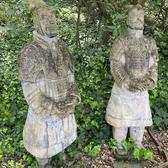 "Large Terracotta Warrior Statues (77"" tall)"