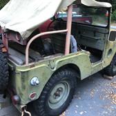 Korean war M38 jeep
