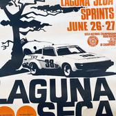 1960's Laguna Seca Race Posters