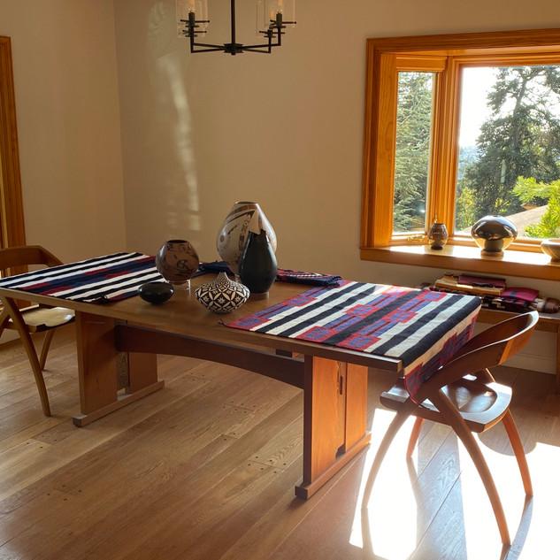 Berkeley Mills Mesa Mahogany Dining Table