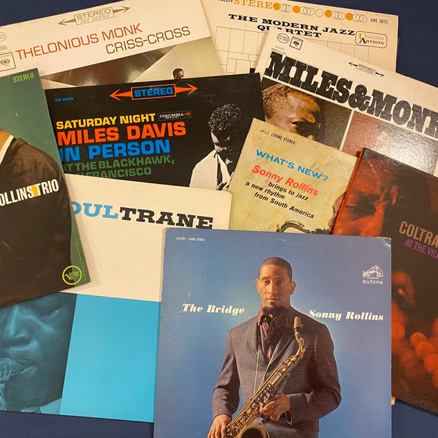 Jazz Vinyl - Miles, Coltrane, Rollins, Monk, etc..