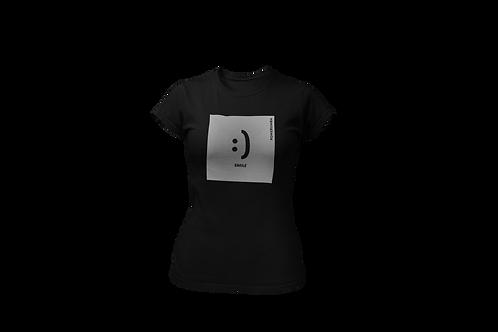 SMILE Reflective Women Shirt