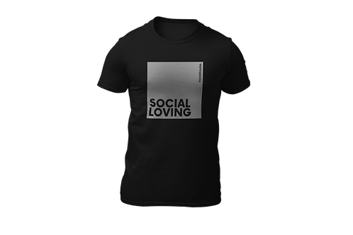 SOCIAL LOVING Reflective Men Shirt