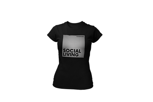 SOCIAL LIVING Reflective Women Shirt